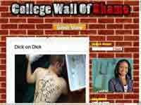 College Wall of Shame